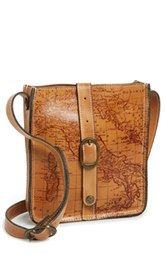 Patricia Nash 'Venezia' Leather Crossbody Bag