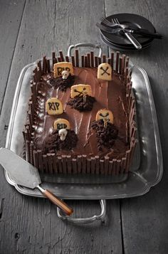 Tartas y dulces de Halloween: ¡están de miedo!