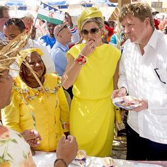 30-04-2015 King Willem-Alexander and Queen Maxima in Bonaire. #queenmaxima #kingwillemalexander #king #queen #netherlands #dutch #koninginmaxima #koningwillemalexander #koningin #koning #nederland #maxima #bonaire