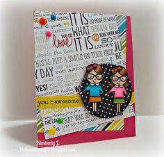 Kimberly's Crafty Spot: Card Harmony- Geek Love by Avery Elle