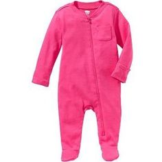 Zip-Front One-Pieces for Baby