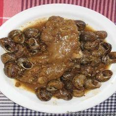 Recepta de cuina de Peus de porc amb cargols