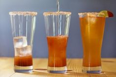 Michelada -- we make these at home all the time!