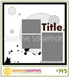 MSC December sketch 4 - Scrapbook.com