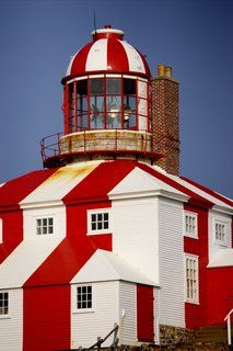 Built in 1843, the light at Cape Bonavista is one of the few in the world where you can still climb up the stone tower and see the same seal oil fueled catoptric light apparatus that was used in the 1800s. Experience a light keeper's day in 1870 - a 24-7 job of polishing glass, filling oil lamps, recording weather patterns and watching the waves from one of the most rugged points in Newfoundland.