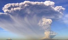 """Southern Chili is on """"Red Alert"""" after two eruptions of the Calbuco volcano spewed 23.5 inches of ash in some places, according to Chili's Ministry of Interior and Public Safety. New advisories say the ash could reach an altitude of 12,000 feet."""