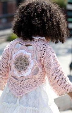 Wild Salt Spirit: Miss Julia's Vintage Knit & Crochet Patterns: Free Patterns - 35 Baby Sweaters to Knit - Crochet Crochet Toddler, Crochet Girls, Crochet Baby Clothes, Crochet For Kids, Girls Sweaters, Baby Sweaters, Vintage Knitting, Baby Knitting, Crochet Cardigan