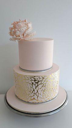 bolo casamento noivado metalizado inspire minha filha vai casar-10