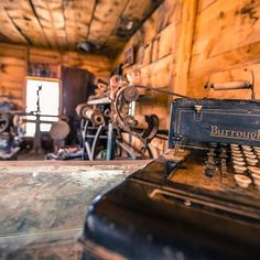 Driving through Arizona, I stopped in a very small ghost town and saw this old shoe repair store and had to get a picture.  Pretty cool how things used to be.