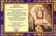 Bendición de kuan yin
