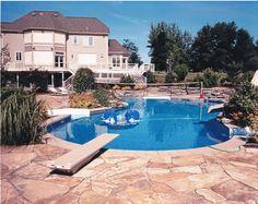 Beautiful Backyard! Landscape Design, Hardscape, Poolscape, Fencing. Fencing, Design Projects, Landscape Design, Backyard, Outdoor Decor, Beautiful, Home Decor, Fences, Patio