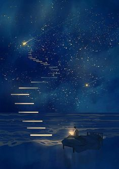 Fantasy art drawings pictures new Ideas Japon Illustration, Dream Illustration, Fantasy Landscape, Galaxy Wallpaper, Wallpaper Samsung, Anime Scenery Wallpaper, Aesthetic Art, Night Skies, Sky At Night