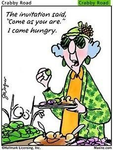 Maxine on being hungry