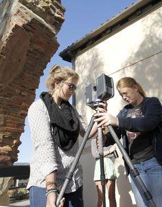 SYVUHS starts 3D laser scan of historic building