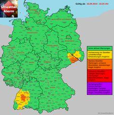 +++ Kleine Gewitter in Baden-Württemberg und Sachsen aktiv +++