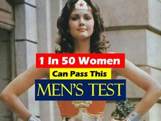 Some men can't even pass this one.