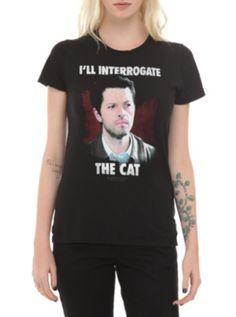Supernatural Interrogate The Cat Girls T-Shirt
