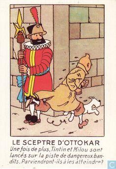 Carte postale - Tintin