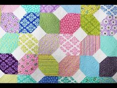 ▶ Stitch 'n Flip for Piecing Quilt Blocks by Me & My Sister Designs featuring XOXO Quilt Pattern - YouTube