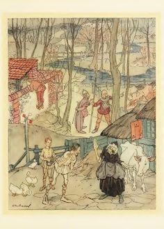 MONGAN'S FRENZY - James Stephens - Irish Fairy Tales