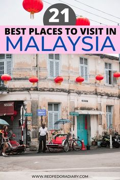Thinking of visiting Malaysia? Check out this list of the bucket list worthy best places to visit in Malaysia for unforgettable memories and epic experiences Malaysia travel | Malaysia Wildlife | Malaysia best places | best places in Malaysia | best places to travel in Malaysia | Malaysia bucket list