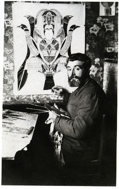 Augustin Lesage painting