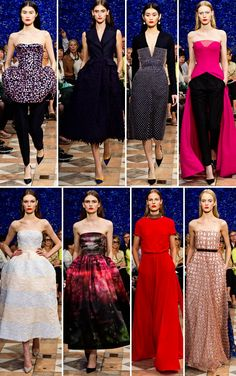 Dior | Haute Couture Fall 2012 | http://www.ispybyblye.com/raf-simons-classic-dior-with-an-edge/