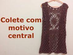 Colete Maxi Circular - YouTube