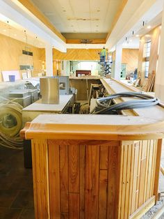 A behind the scenes look at the new bar being built in the lower level of Thornberry Creek at Oneida to prepare for the LPGA Classic.