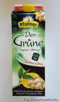 """Pfanner Der Grüne Ingwer-Zitrone Vor einiger Zeit konnte man sich auf Facebook bei """"Pfanner"""" für diesen Produkttest bewerben. Da mein Mann gerne solche Eistees trinkt, habe ich mich beworben und wu…"""