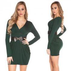 85273f69b6 Zöld miniruha övvel - Női ruha webáruház, női ruhák online - HG Fashion
