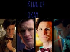 """The Eleventh Doctor/ """"King of okay."""" The Impossible astronaut"""