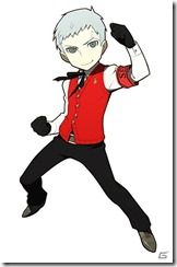 View an image titled 'Akihiko Sanada Art' in our Persona Q: Shadow of the Labyrinth art gallery featuring official character designs, concept art, and promo pictures. Game Character Design, Character Art, Character Inspiration, Atlus Games, Persona 3 Portable, Persona Q, Yo Gi Oh, Animal Ears, Design Reference