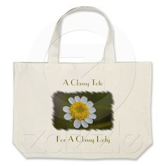Wildflower 8 Tote Canvas Bag