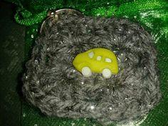 Crocheted keyring