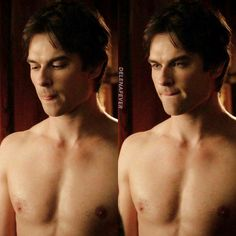 Oh damn boy . Damon Salvatore