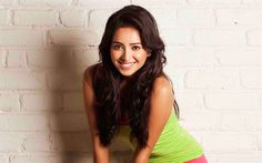 Download wallpapers Asha Negi, Indian actress, 4k, smile, Bollywood, beautiful woman