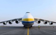 The World's Biggest Airplane Weighs 1.41 Million Pounds:  February 21, 2017