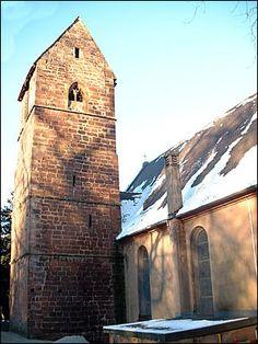 L'église Catholique de Bouxwiller