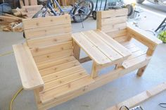 How to Build Your Own Double Bench Chair – Woodworking Session