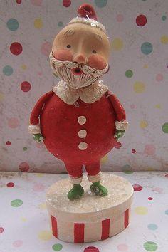PaperClay Santa--sweet!
