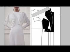 Fashion Patterns, Clothing Patterns, Sewing Patterns, Pattern Cutting, Pattern Drafting, One Shoulder Wedding Dress, Album, Wedding Dresses, Creative