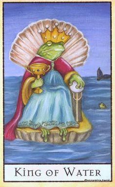 King of Water - The Bohemian Animal Tarot - Rozamira Tarot - Picasa Web Albums
