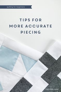 Quilting For Beginners, Quilting Tips, Quilting Tutorials, Sewing For Beginners, Quilting Projects, Quilting Designs, Sewing Tutorials, Beginner Quilting, Sewing Projects