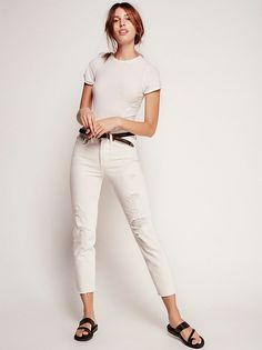 Levi's Wedgie Icon High Rise from Free People!