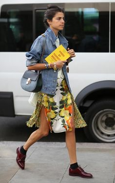 Leandra Medine at London SS15 Fashion Week