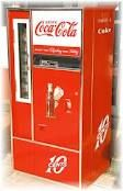 The old coke machine..bottles only with a bottle cap opener