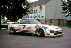 Legendary 1980′s IMSA Akai-sponsorsedRacing Beat SA22C RX-7