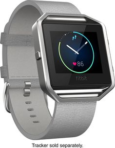 Fitbit - Blaze Luxe Accessory Band (Small) - Mist Gray