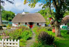 Tipico cottage irlandese